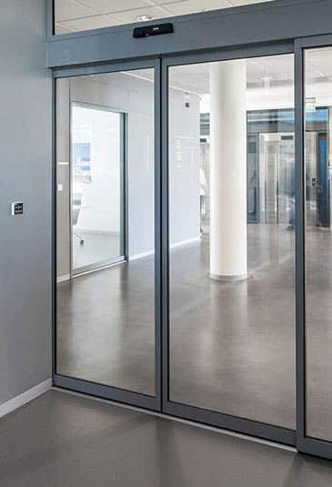 KONE automatic sliding doors are a compact durable and energy efficient solution for wide variety & KONE Automatic Sliding Doors - KONE Australia Pezcame.Com